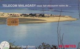 TARJETA TELEFONICA DE MADAGASCAR. (433) - Madagascar