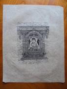 Art Asiatique Dessin/estampe Sur Papier De Riz - Art Asiatique