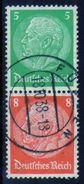 ALEMANIA REICH - Zusammendrucke-Mi. S119-N-10857 - Se-Tenant