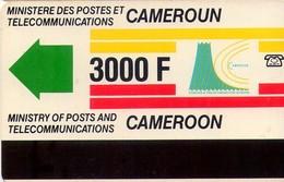 TARJETA TELEFONICA DE CAMERUN. (921) - Cameroon