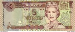 FIJI 5 DOLLARS ND (2002) P-105 UNC  [FJ516a] - Fiji