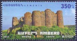Used Armenia 2017, Europa - Castels And Forts, Amberd X-XIIIc 1V. - Armenië