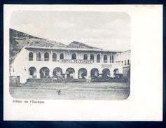 Cpa Du  Yemen  Aden -- Hotel De L' Europe Turkish Shop    SEP17-33 - Yemen