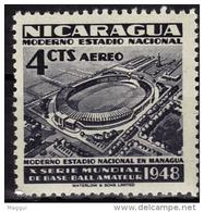 NICARAGUA  PA 270  * *      Football  Soccer  Fussball Stade - Ungebraucht