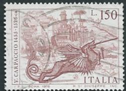 """Italia, Italy 1976; Drago, Dragon, Nella Leggenda Di """"San Giorgio Uccide Il Drago"""" Dipinto Dal Carpaccio. Usato - Fiabe, Racconti Popolari & Leggende"""