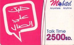 TARJETA TELEFONICA DE SUDAN. (427) - Soudan