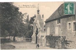 ----  91 -----   MONTGERON  Porte Du Moulin Du Senlis - TTB - Montgeron