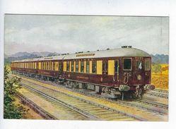 CPA Brighton Belle N° 4380 Salmon Series - Trains