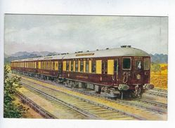 CPA Brighton Belle N° 4380 Salmon Series - Treni