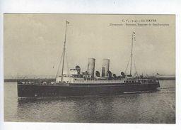 CPA Le Havre Normannia Nouveau Steamer De Southampton N° 2147 C.V. - Paquebots