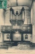Hautvillers (51 - Marne) Intérieur De L'église, Les Orgues - édit Franjon à Ay (circulée En 1914) - Autres Communes