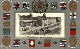 ORIGINAL    Bettembourg. La Gare ( Perron ) - Bettembourg