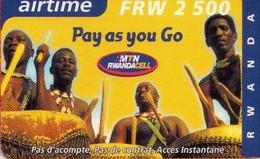 TARJETA TELEFONICA DE RWANDA. (201) - Rwanda