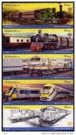 Malaysia 2010 S#1305a Malayan Railway Booklet Stamps MNH Train - Malaysia (1964-...)