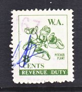 WESTERN  AUSTRALIA  REVENUE  21   (o) - 1854-1912 Western Australia