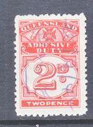 QUEENSLAND  REV.  59  (o) - Used Stamps