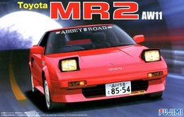 Toyota MR2 AW11 ( Fujimi ) 1/24 - Cars
