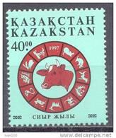 1997. Kazakhstan, Year Of The Bull, 1v, Mint/** - Kazakhstan