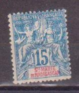MADAGASCAR   SAINTE MARIE          N° YVERT  :   6    NEUF SANS GOMME        ( SG     253  ) - Unused Stamps
