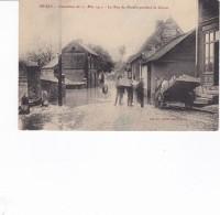 PAS DE CALAIS BRUAY INONDATION 21 MAI 1910 LA RUE DU MOULIN PENDANT LA DECRUE - Altri Comuni