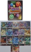 Puzzle & Dragons : 16 Japanese Trading Cards - Trading Cards