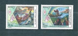 Monaco Timbres Neuf ** De 1991 Croix Rouge  N°1797 Et 1798 Neufs ** Parfait - Monaco