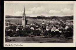 Beselich Obertiefenbach - S/w Ortsansicht 1   Kaufhaus Karl Schenk - Otros