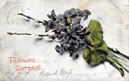 [DC10796] CPA - FIORI - Viaggiata 1905 - Old Postcard - Fiori