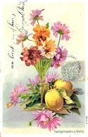[DC10799] CPA - FIORI - Viaggiata 1906- Old Postcard - Fiori