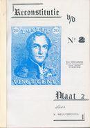 BELGIQUE - Reconstitutie Van De N°2, Plaat 2, V. Meulebrouck, Ed. EMD, 62 Pp. TTB - 12236 MX (Epaulette) - Filatelia E Storia Postale