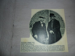 """Origineel Knipsel ( 703 ) Uit Tijdschrift  """" Ons Volk """"  :    Honderdjarige August Vermeirsch Uit Poesele - Non Classificati"""