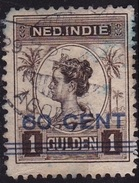 Ned. Indië: Langebalkstempel TOELOENG-AGOENG (893) Op 1921 Hulpuitgifte Wilhelmina Met Opdruk 60/1 GLD NVPH 147 - Indes Néerlandaises