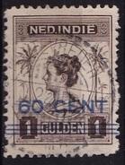 Ned. Indië: Langebalkstempel WELTEVREDEN-KRAMAT (924) Op 1921 Hulpuitgifte Wilhelmina Met Opdruk 60/1 GLD NVPH 147 - Indes Néerlandaises