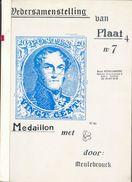 BELGIQUE - MEDAILLON 20c. Wedersamenstelling Van Nr.7 Plaat 4, V. Meulebrouck, Ed. , Ostende, 1985, 121 Pp. TTB - 12239 - Philatélie Et Histoire Postale