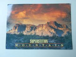 ETATS-UNIS AZ ARIZONA EAST OF PHOENIX LIES AUPERSTITION MOUNTAIN.......... - Phoenix