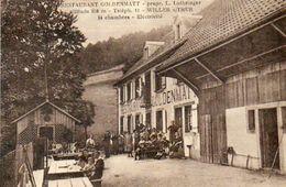 CPA - Environs De WILLER-sur-THUR (68) - Aspect De La Ferme-Auberge Goldenmatt - Années 20/ 30 - Autres Communes