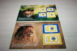 Guyana 2017 Fauna Lions - Stamps