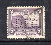 T423  - PERFIN PERFINS , 2 Cent.  Usato - America (Other)