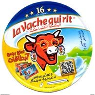 """ETIQUETTE FROMAGE LABEL CHEESE """" La Vache Qui Rit """" 16 - Cours De Soutien Offerts Etiketten N° 76032782 Labels Portions - Fromage"""