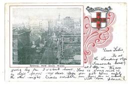 AU 1 - ( 9746 ) Australia - L I T H O, SYDNEY, New South Wales - Old Postcard - Used - 1904 - Sydney
