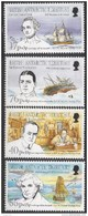 1994 British Antarctic Territory Antarctic Heritage Ships Explorers Semi-postal Complete Set Of 4 MNH - Ungebraucht