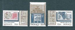 Monaco Timbres  De 1995  N°1989 A 1991 Neufs ** Parfait Prix De La Poste, Valeur Faciale - Mónaco