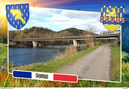 Postcard, Communes Of France, Beure, Doubs - Cartes Géographiques