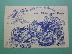Vieux Papiers - Carte De Visite Ancienne - Garage RIFFLARD - Véhicules - Automobiles - SAINT-GRATIEN - 95 VAL-D'OISE - Cartes De Visite