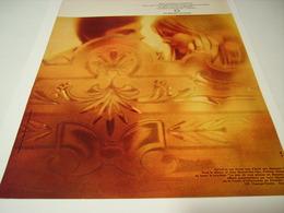 ANCIENNE PUBLICITE DIAMANTS ETERNEL 1970 - Bijoux & Horlogerie
