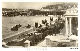 GLAMORGAN - BARRY ISLAND - THE LAKE RP - Ernest T Bush  Glam199 - Glamorgan