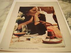 ANCIENNE PUBLICITE DIAMANTS SONT DES MOTS D AMOUR 1970 - Bijoux & Horlogerie