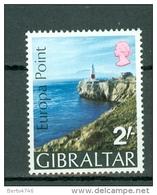 Gibraltar 1970 Yv  231**,   Mi 236** - Gibraltar