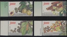 Indonesia - Stamp Sets: Indonesian Spices 2016 (Nutmeg/ Cinnamon/ Black Pepper/ Clove) - Indonesië