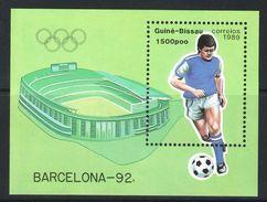GUINEA BISSAU 1989 - OLYMPICS BARCELONA 92 - MICHEL BLOCK 277 - Ete 1992: Barcelone